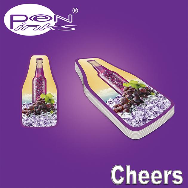 PEN-LINKS 乾杯Cheers 啤酒原子筆(含便條紙一組) 9
