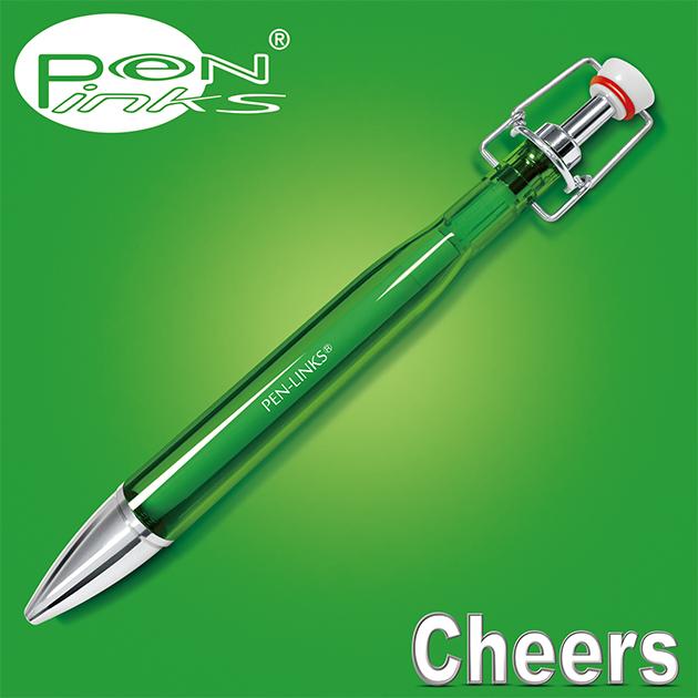 PEN-LINKS 乾杯Cheers 啤酒原子筆(含便條紙一組) 13