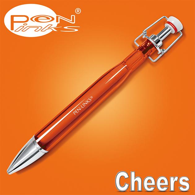 PEN-LINKS 乾杯Cheers 啤酒原子筆(含便條紙一組) 18