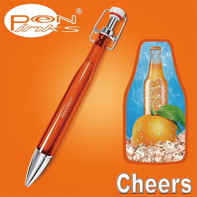 PEN-LINKS 乾杯Cheers 啤酒原子筆(含便條紙一組) 19