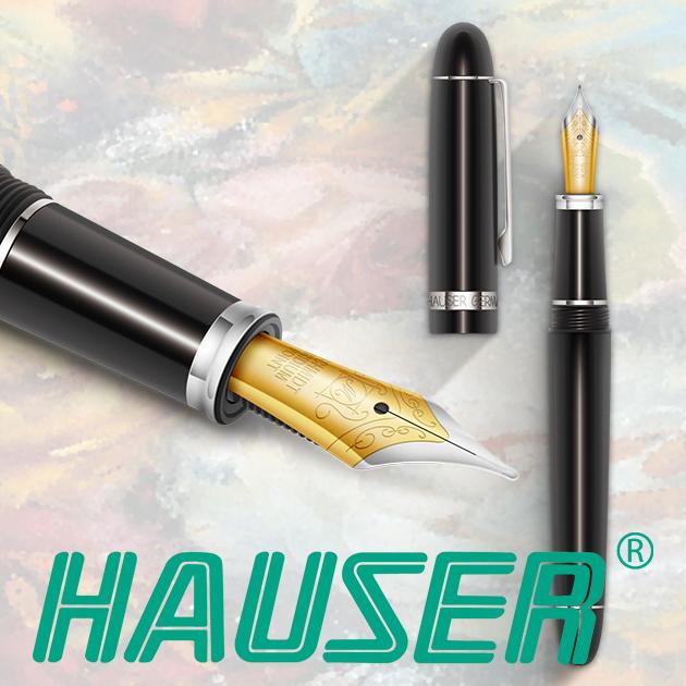 德國HAUSER 豪仕 CLASSIC ART NOUVEAU 新藝術鋼筆(雙尖)系列 7