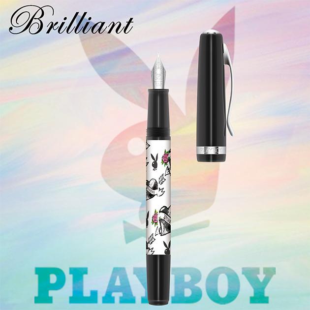 【限量絕版品】美國PLAYBOY Brilliant星燦鋼筆系列 (1) 2