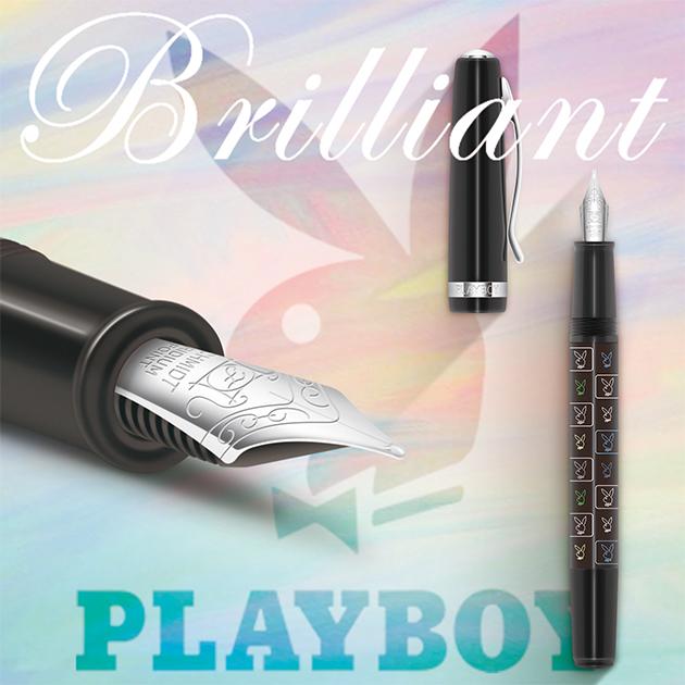 【限量絕版品】美國PLAYBOY Brilliant星燦鋼筆系列 (1) 4