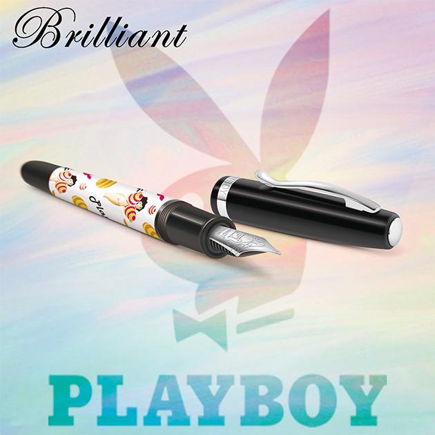 【限量絕版品】美國PLAYBOY Brilliant星燦鋼筆系列 (1) 9