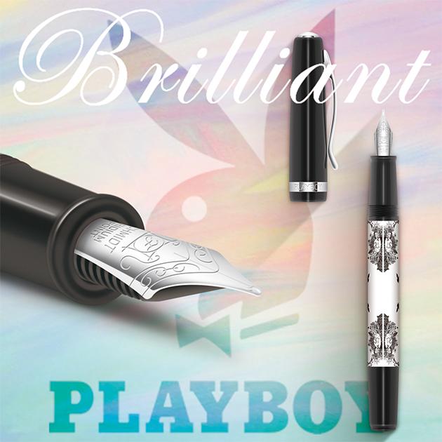 【限量絕版品】美國PLAYBOY Brilliant星燦鋼筆系列 (1) 10