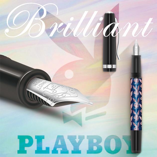 【限量絕版品】美國PLAYBOY Brilliant星燦鋼筆系列 (1) 14