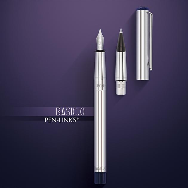 PEN-LINKS BASIC.O 貝斯可鋼筆+卡式鋼珠筆(組) 2