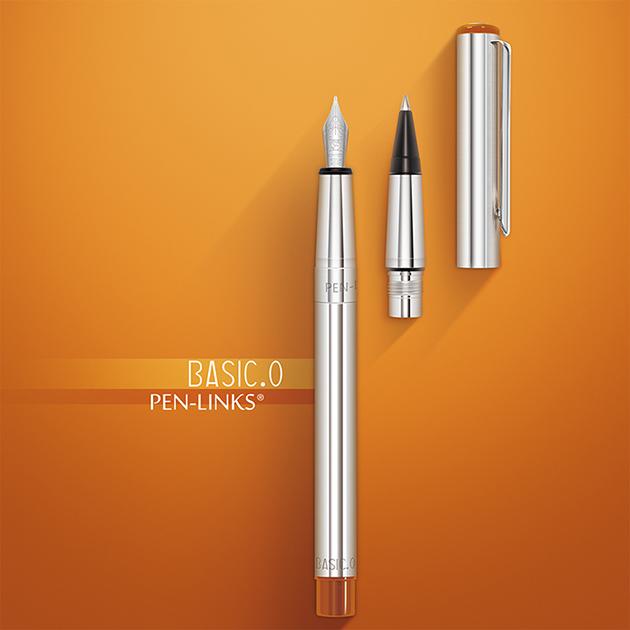 PEN-LINKS BASIC.O 貝斯可鋼筆+卡式鋼珠筆(組) 4